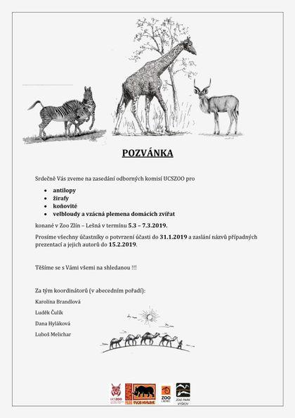 Zasedání komise pro koňovité v rámci UCSZOO ve Zlíně