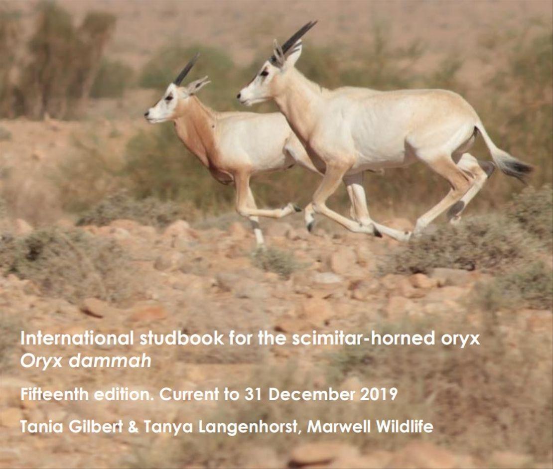 Mezinárodní plemenná kniha přímorožců šavlorohých